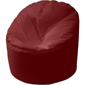 Кресло мешок Пазитифчик Бмо15 бордовый