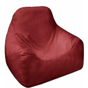 Кресло мешок Пазитифчик Бмо17 бордовый