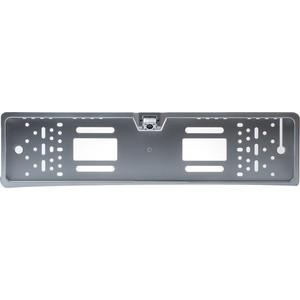 Камера заднего вида Blackview UC-77 Silver LED (рамка под номерной знак со светодиодной подсветкой)