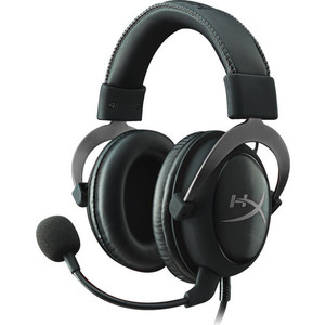 Игровая гарнитура Kingston HyperX Cloud II Gun Metal (KHX-HSCP-GM) штатив slik sprint mini ii gm