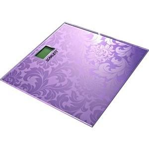 Весы Scarlett SC-217, розовый брюки naf naf naf naf na018ewuuo61