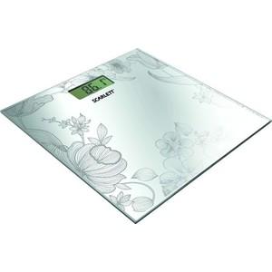 Весы Scarlett SC-215, серебро весы напольные scarlett sc bsd33e894