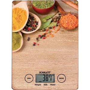 Кухонные весы Scarlett SC-KS57P02 весы напольные scarlett sc bsd33e894
