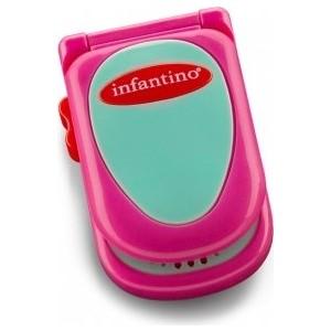 Развивающая игрушка Infantino розовый телефон (506-504) телефон