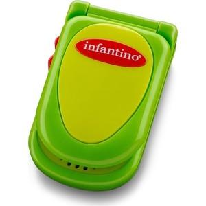 Развивающая игрушка Infantino зеленый телефон (506-307) цена