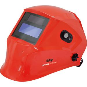 Сварочная маска Fubag Optima 9-13 Red Хамелеон сварочный аппарат fubag inmig 200 plus 38093 маска сварщика fubag optima 9 13