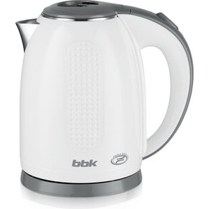 Чайник электрический BBK EK1735P, белый/серый
