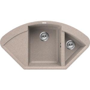 Мойка кухонная Elleci Easy Corner, 1057x575, granitek (51) LGYCOR51 мойка кухонная elleci ego 480 1000x500 granitek 62 lge48062