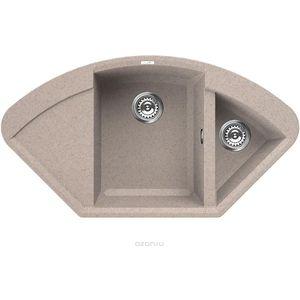 Мойка кухонная Elleci Easy Corner, 1057x575, granitek (53) LGYCOR53 мойка кухонная elleci ego 480 1000x500 granitek 62 lge48062