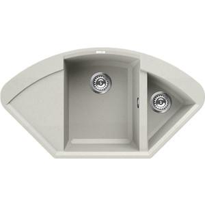 Мойка кухонная Elleci Easy Corner, 1057x575, granitek (68) LGYCOR68 мойка кухонная elleci ego 480 1000x500 granitek 62 lge48062