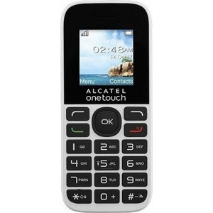 Мобильный телефон Alcatel One Touch 1016D Pure White телефон alcatel one touch 991 купить