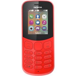 Фотография товара мобильный телефон Nokia 130 Dual Sim Red (477862)
