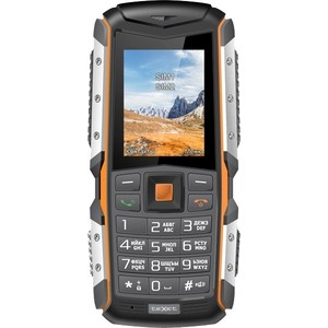 Мобильный телефон TeXet TM-513R Black/Orange плеер texet t 24 8gb black green