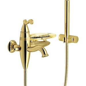 Смеситель для ванны TekNobili Dubai с душевым набором (DB00110GD) oras смеситель для ванны с душевым набором apollo