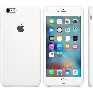 Фотография товара чехол Apple iPhone 6-6s Silicone Case White (MKY12ZM/A) (478493)