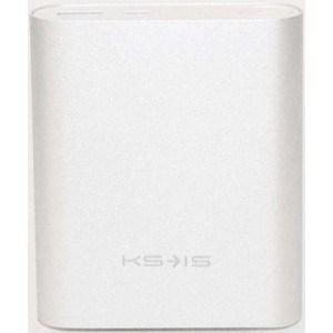 Внешний аккумулятор KS-is KS-239 Silver (10400 мАч)