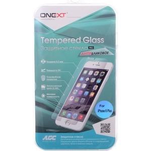 Защитное стекло Onext для Apple iPhone 6 (Антибликовое)
