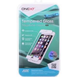 Защитное стекло Onext для Apple iPhone 6 с рамкой Black