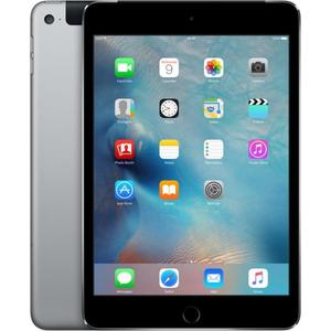Планшет Apple iPad mini 4 128GB Wi-Fi+cellular Space Gray apple mlq52ru a ipad pro 9 7 wi fi cellular 128gb gold