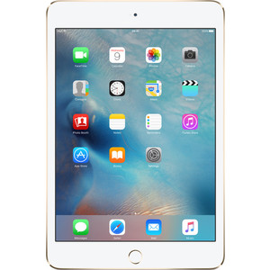 Планшет Apple iPad mini 4 128GB Wi-Fi+cellular Gold apple apple ipad mini 4 16gb wi fi cellular