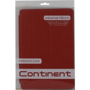 Чехол Continent UTS-102 RD (для устройств с экраном до 10,1'' экокожа/пластик)