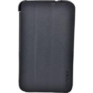 Чехол Sumdex ST3-820 BK для Samsung SM-T300 SM-T310 Galaxy Tab 3 (8'' экокожа/Пластик черный)