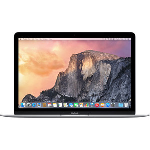 Ноутбук Apple MacBook 12 Silver (MF865RU/A)