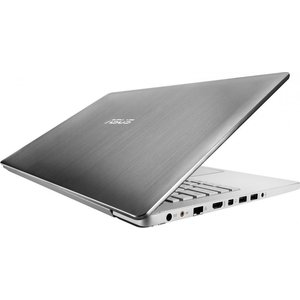 "Ноутбук Asus N550JK-XO589H 15.6"" Steel Grey (90NB04L1-M07410)"