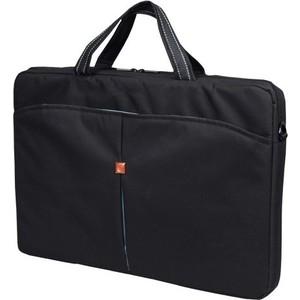 все цены на Сумка для ноутбука Continent CC-017 Black (нейлон до 17