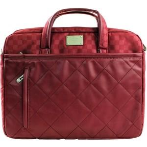 где купить Сумка для ноутбука Continent CC-036 Red (полиэстр/экокожа до 15.6