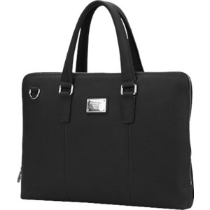 "Сумка для ноутбука Continent CL-105 Black (натуральная кожа до 15.6"")"