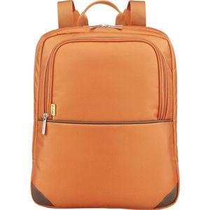 Рюкзак для ноутбука Sumdex PON-454OG (нейлон/полиэстер до 14) сумка для ноутбука sumdex pon 308bu netbook case до 10 нейлон полиэстер голубой 29 8 х 21 х 5 1 см