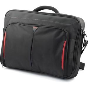 Сумка для ноутбука Targus Classic+Clamshell CN418EU-70 Black (полистер до 18) сумка для ноутбука targus classic clamshell cn418eu 70 black полистер до 18