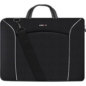 Сумка для ноутбука Crown CMB-435 Black (до 15.6'')