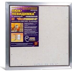 Сантехнический люк ППК Практика EuroFORMAT-R 4 под плитку (ЕТР 50-50) сантехнический люк ппк практика формат под плитку мн 50 50
