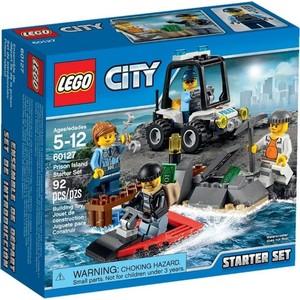 Конструктор Lego Набор для начинающих: Остров-тюрьма (60127) конструктор lego остров сокровищ 10604