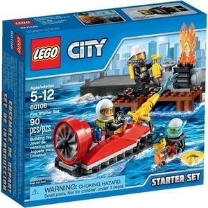Конструктор Lego Набор для начинающих: Пожарная охрана (60106)