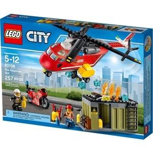 Конструктор Lego Пожарная команда быстрого реагирования (60108)