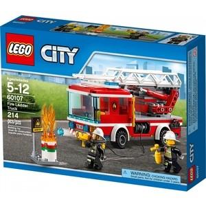 Конструктор Lego Пожарный автомобиль с лестницей (60107)