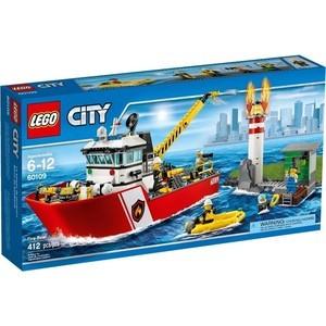Конструктор Lego Пожарный катер (60109)
