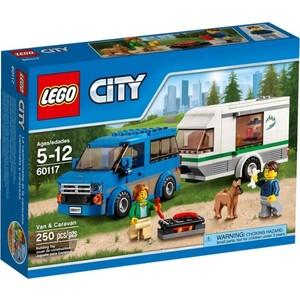 Конструктор Lego Фургон и дом на колёсах (60117)