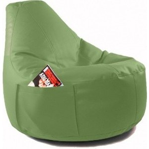 Кресло-мешок Bean-bag Comfort green экокожа