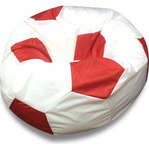 Кресло мяч DreamBag Оксфорд бело-красный пуф dreambag кубик космос