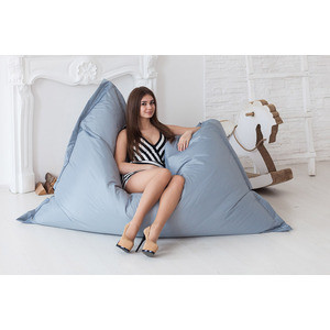 Кресло-мешок DreamBag Подушка - серая кресло мешок dreambag подушка африка