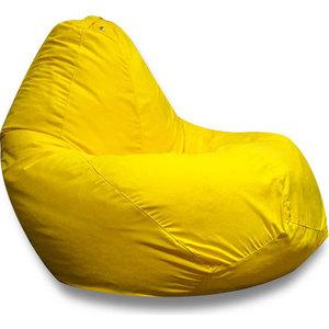 Кресло-мешок DreamBag Желтая искусственная замша XL