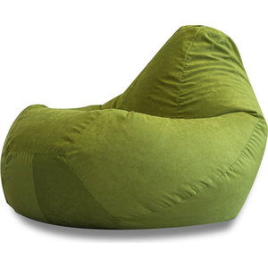 Кресло-мешок DreamBag Зеленая искусственная замша XL
