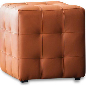 Пуф DreamBag Лотос оранжевая экокожа пуф dreambag модерна коричневая кожа