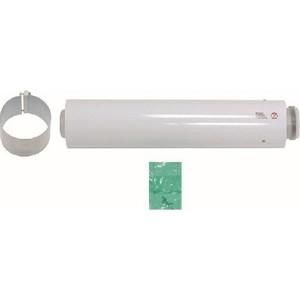 Удлинение Vaillant 60/100 мм 0.5 м РР (303902) vaillant удлинительная труба 80 125 мм 0 5 м рр