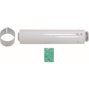 Удлинение Vaillant 60/100 мм 2 м РР (303905) vaillant отвод для труб 80 125 мм 87° рр