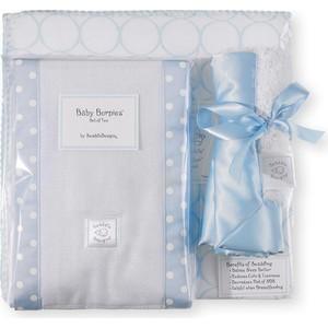 Подарочный набор SwaddleDesigns для новорожденного Gift Set Blue Mod on WH (SD-022PB-G)